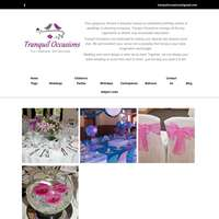 Tranquil occasions logo