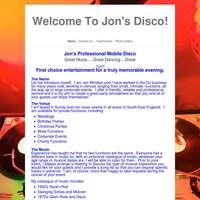 Jon's Disco logo