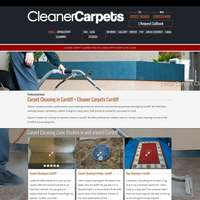 Cleaner Carpets logo