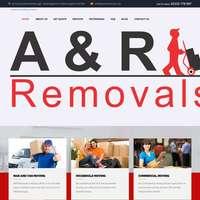 A & R Removals.com logo