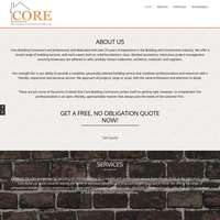 Core building contractors ltd logo