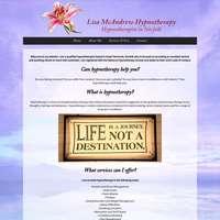 Lisa mcAndrew hypnotherapy logo