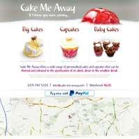 Cake Me Away  logo