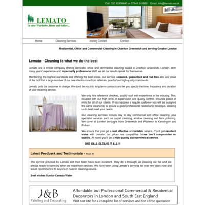 Lemato Cleaning Services
