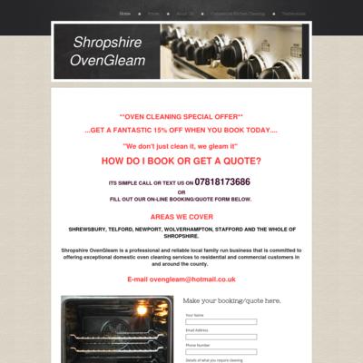 Shropshire ovengleam