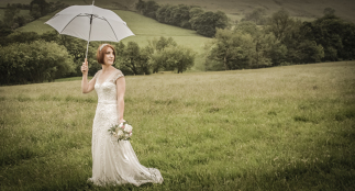 Photo by Tony Hall Derbyshire Wedding Photographer